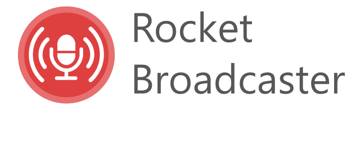 Rocket Broadcaster Logo
